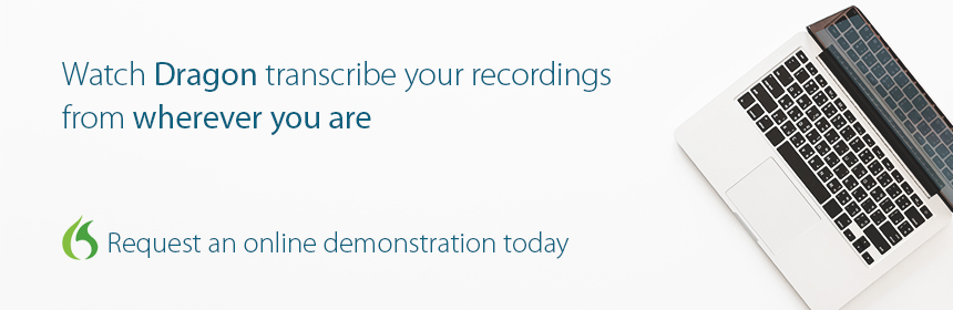 Dragon Professional Individual v.15.3, Watch Dragon Speech Recognition Transcribe your own recordings from anywhere