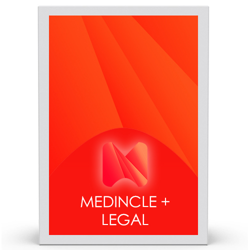 Medincle Plus Legal, Legal vocabulary plugin to turn Dragon Professional individual v15.3 into Dragon Legal