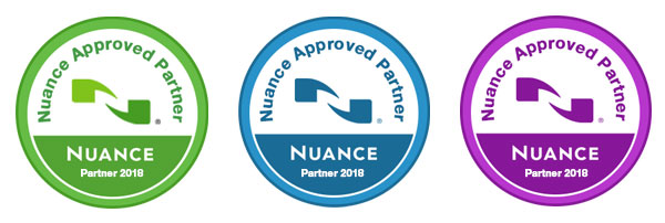 Speak-IT Solutions are Nuance Approved Partners 2018 - Visit Dictaphones.co.uk for Dragon Speech Recognition Products