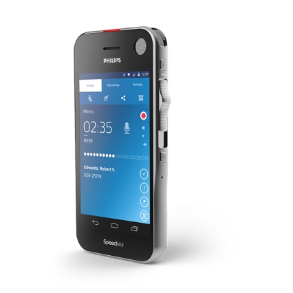 Philips SpeechAIr Smart Voice Recorder with WiFi Functionality
