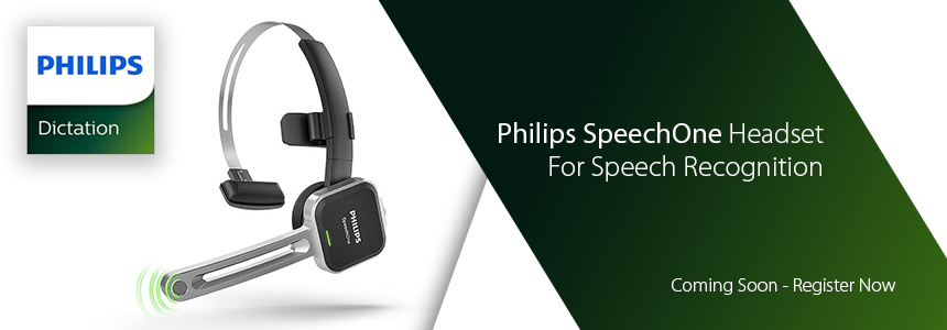 Philips SpeechOne Headset for Speech Recognition - Register now to be notified of release