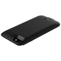 Rechargeable external battery case power bank for use with iPhone 8, iPhone 7, iPhone 6s and iPhone 6