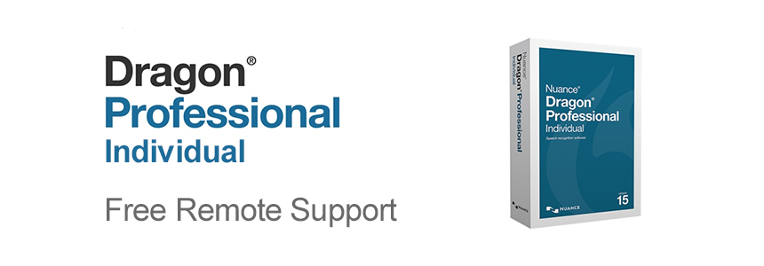 Free Remote Support on Nuance Dragon Professional Individual v15.4 until April 30th 2019